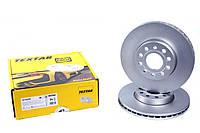 Диск тормозной (передний) VW Caddy III 04- (288x24.9) PRO+ TEXTAR (Германия) 92120805