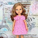 """Платье """"Розовый бутон"""" с паетками для кукол Паола Рейна, фото 2"""