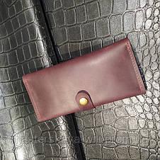 Жіночий шкіряний гаманець «Vintage», фото 2
