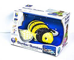 Ночник детский проектор звездное небо музыкальный Пчелка