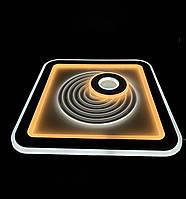 Светодиодный потолочный светильник квадрат 115 ватт, фото 1