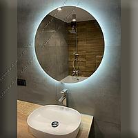 Зеркало круглое с контурной LED подсветкой, 800х800мм, L 57 А, фото 1