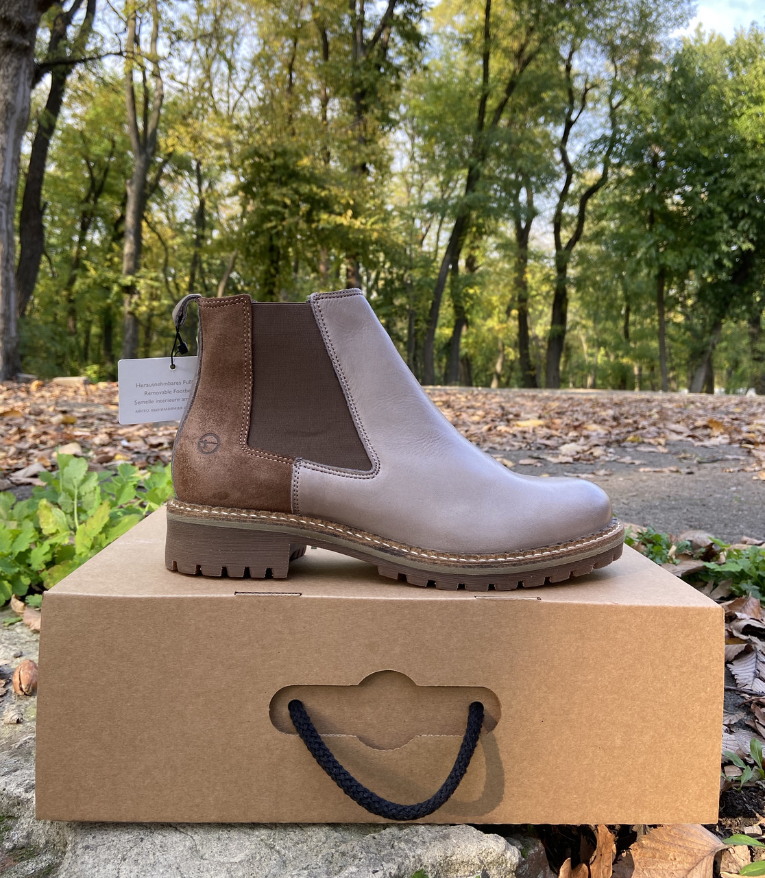 Женские ботинки челси Tamaris оригинал натуральная кожа 40