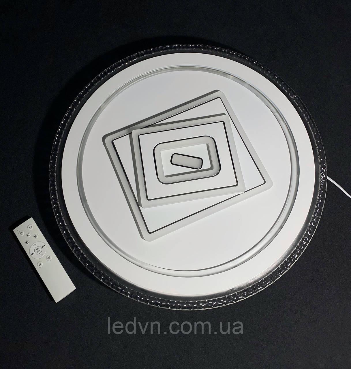 Светодиодный потолочный светильник круг белый 120 ватт