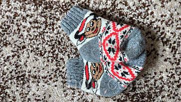 Дитячі носки 💯% шерсть, фото 3