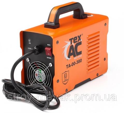 Сварочный аппарат TexAC 380 ХОРОШЕГО КАЧЕСТВА