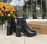 Женские зимние ботинки Respect натуральная кожа шерсть 38, фото 3