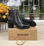 Женские зимние ботинки Respect натуральная кожа шерсть 38, фото 5