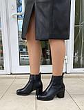 Женские зимние ботинки Respect натуральная кожа шерсть 38, фото 7