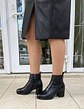 Женские зимние ботинки Respect натуральная кожа шерсть 41, фото 7