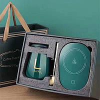 Чашка с подогревом в подарочной коробке