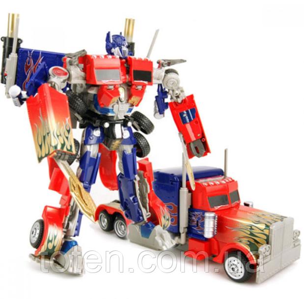 Робот-трансформер 30 см Оптимус Прайм Тягач 2829 со световыми и звуковыми эффектами