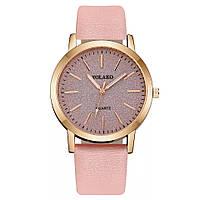 Женские наручные часы Yaloko розовые, фото 1