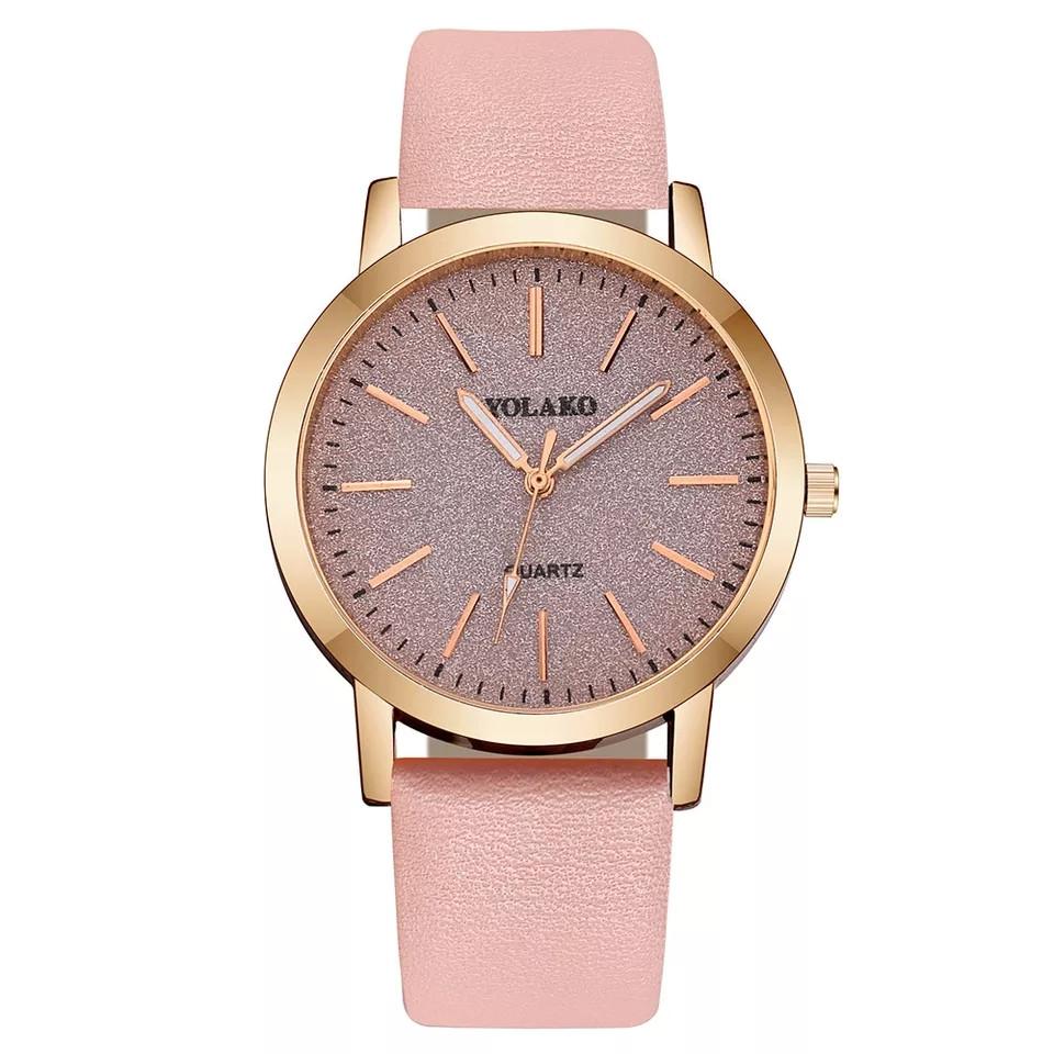 Женские наручные часы Yaloko розовые
