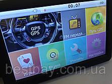 GPS навигатор 5 дюймов DDR2 128Mb 8Gb GPS-5002, фото 3