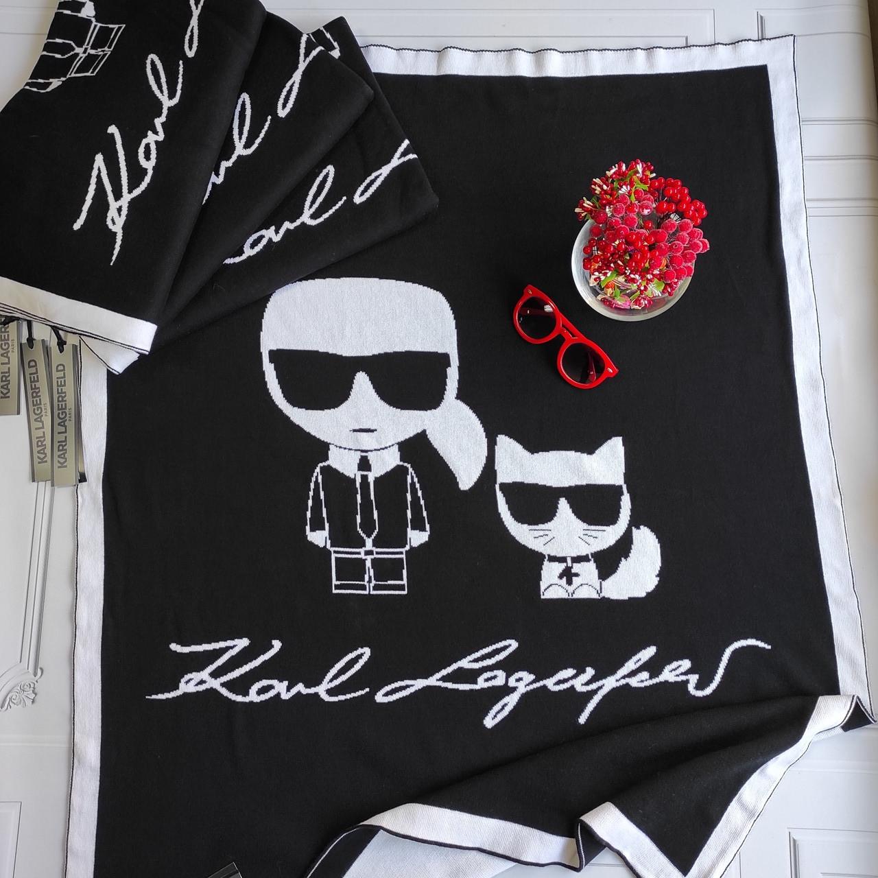 Плед для новорождённых Karl Lagerfeld