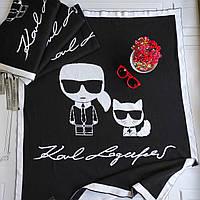 Плед для новорождённых Karl Lagerfeld, фото 1