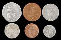 Набор монет Великобритании ( 6 шт )