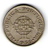 Португальская Индия 6 эскудо 1959  №170, фото 2