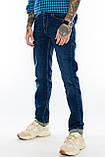 """Джинсы мужские длинные Franco Benussi 21-506 TORINO L 36""""  темно-синие., фото 9"""