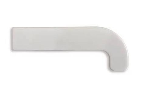 Заглушка торцевая к подоконнику SAUBERG (Сауберг) 600 мм двухсторонняя Орех глянцевый