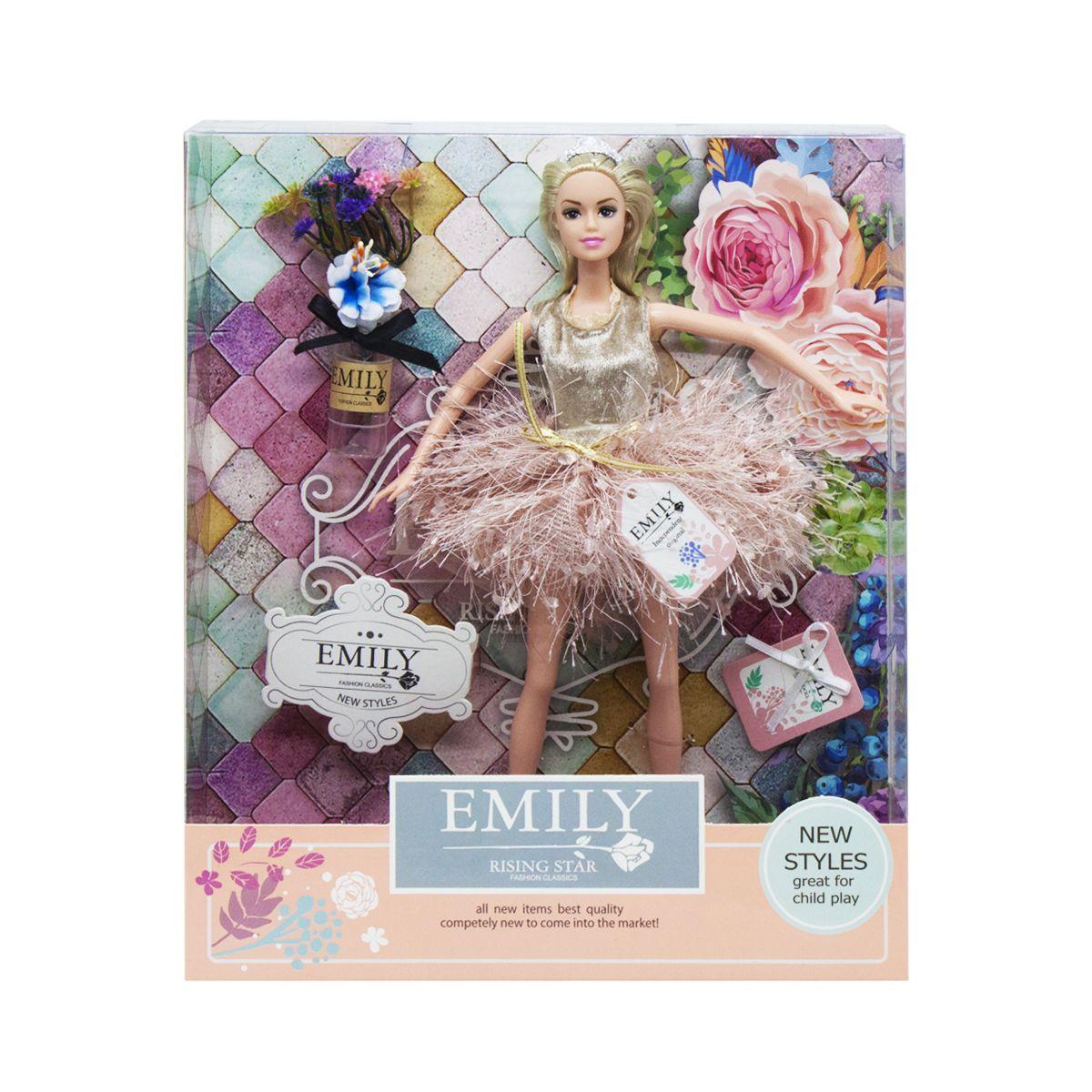 Кукла Эмили Emily Fashion Classics блондинка с высокой детализацией 30см вид 2