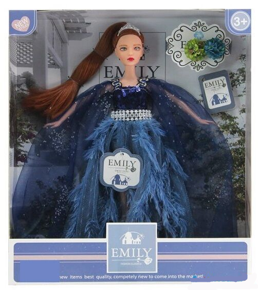 Лялька Емілі Emily Fashion Classics блондинка з високою деталізацією 30см вид 3