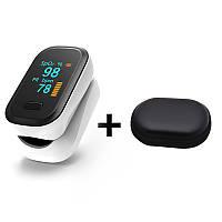Пульсоксиметр Boxym oFit 2 - на палец портативный измеритель пульса и насыщенности кислорода в крови, фото 1