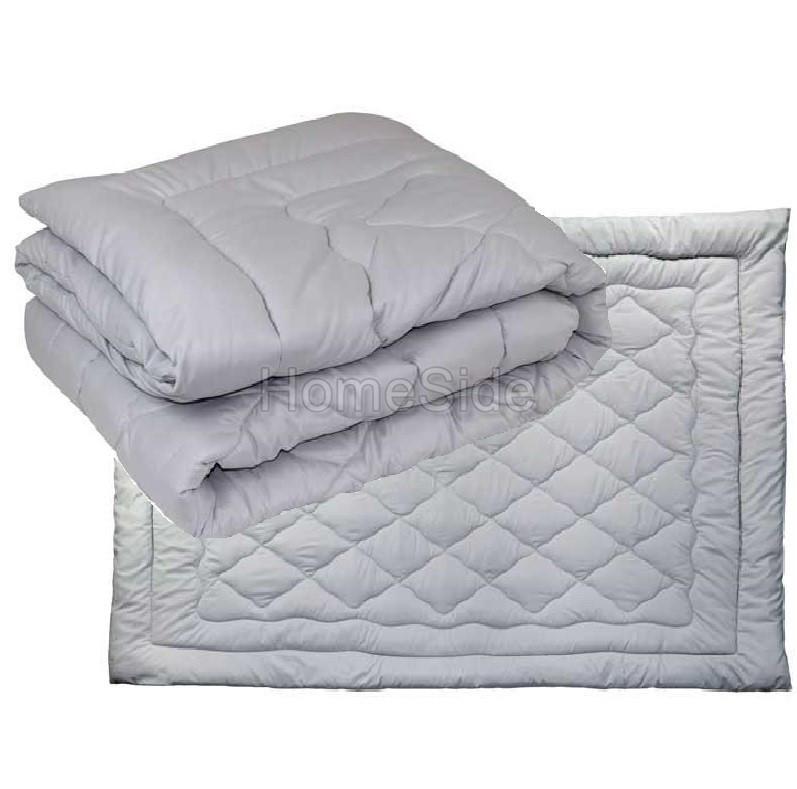 Одеяло зимнее шерстяное 140x205 полуторное Комфорт Серое