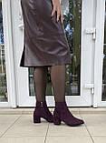 Женские ботинки Respect оригинал натуральная замша 36, фото 7