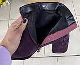 Женские ботинки Respect оригинал натуральная замша 36, фото 4