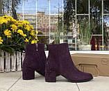 Женские ботинки Respect оригинал натуральная замша 36, фото 3