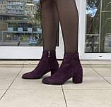 Женские ботинки Respect оригинал натуральная замша 36, фото 8