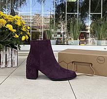 Женские ботинки Respect оригинал натуральная замша 39