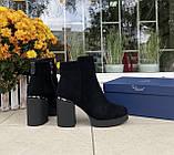 Женские зимние ботинки Respect натуральная замша шерсть 38, фото 3