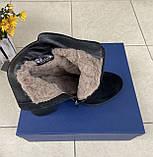Женские зимние ботинки Respect натуральная замша шерсть 38, фото 4