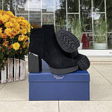 Женские зимние ботинки Respect натуральная замша шерсть 39, фото 5