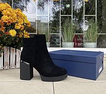 Женские зимние ботинки Respect натуральная замша шерсть 41