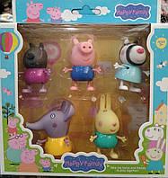 Набор фигурок свинка Пеппа и друзья