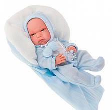 Кукла младенец в голубом 33 см Antonio Juan 6023