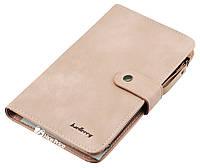 Женский кошелек Baellerry JC224 светло-розовый (пудра) (4744)
