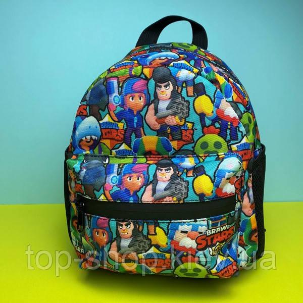 Портфель детский рюкзак для мальчика Бравл Старс (дитячий рюкзак для хлопчика Brawl Stars) в садик