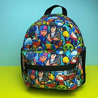 Портфель детский рюкзак для мальчика Бравл Старс (дитячий рюкзак для хлопчика Brawl Stars) в садик, фото 1