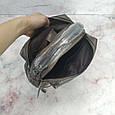Сумка чемоданчик с ручкой / натуральная кожа (256-2) Черный, фото 5