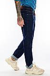 Батальные джинсы Franco Benussi FB 21-404 темно-синие, фото 3