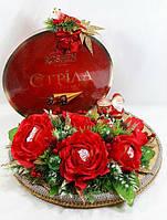 """Букет из конфет в подарок женщине""""Стрела Амура""""№7, фото 1"""