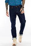 Батальные джинсы Franco Benussi FB 21-404 темно-синие, фото 7