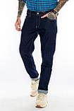 Батальные джинсы Franco Benussi FB 21-404 темно-синие, фото 8