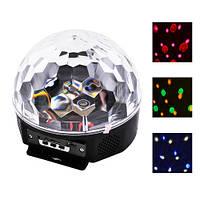 Диско-лазер с пультом ДУ +флешка