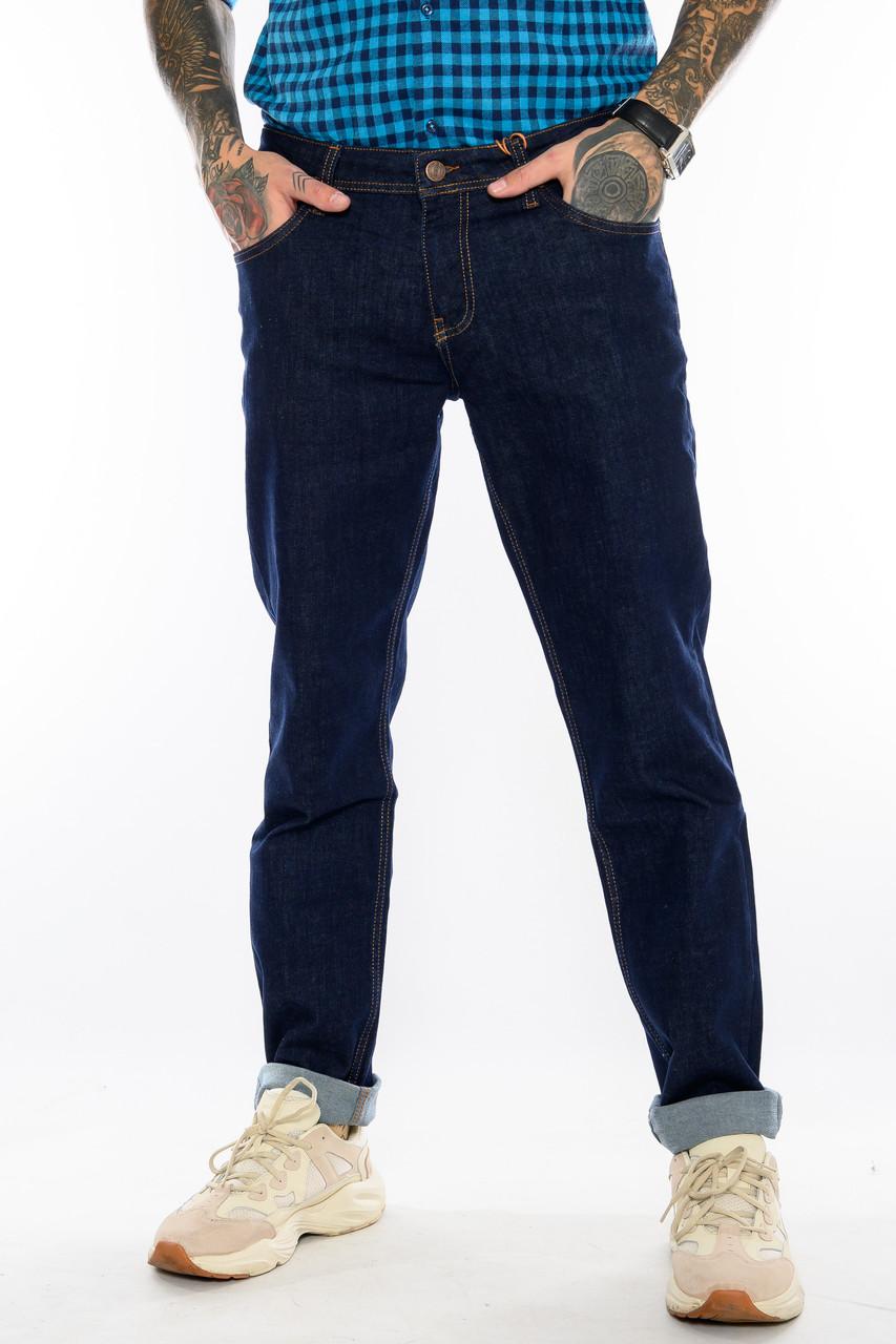 Батальные джинсы Franco Benussi FB 21-404 темно-синие